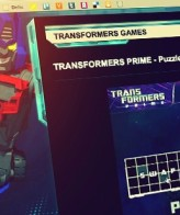 Transformers Prime Puzzle Game